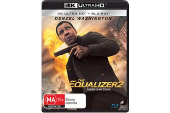 The Equalizer 2 4K Ultra HD Blu-ray UHD Region B