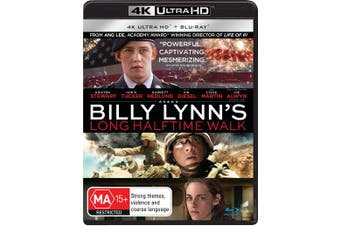 Billy Lynns Long Halftime Walk 4K Ultra HD Blu-ray UHD Region B