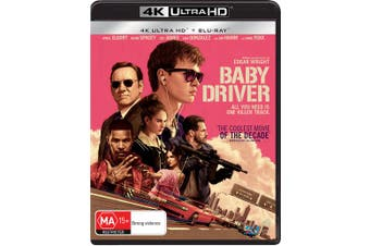 Baby Driver 4K Ultra HD Blu-ray UHD Region B