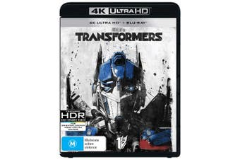 Transformers 4K Ultra HD Blu-ray UHD Region B