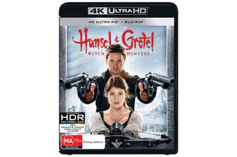 Hansel and Gretel Witch Hunters 4K Ultra HD Blu-ray UHD Region B
