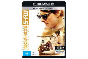 Mission Impossible Rogue Nation 4K Ultra HD Blu-ray UHD Region B