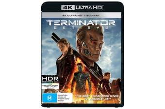 Terminator Genisys 4K Ultra HD Blu-ray UHD Region B