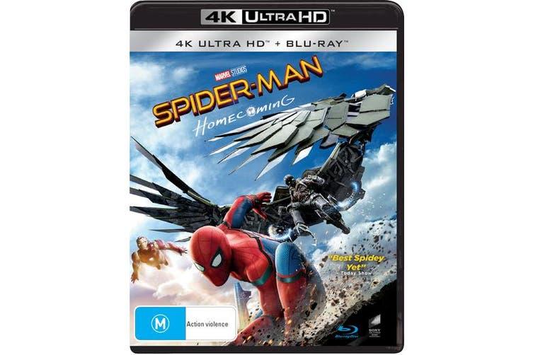 Spider Man Homecoming 4K Ultra HD Blu-ray UHD Region B