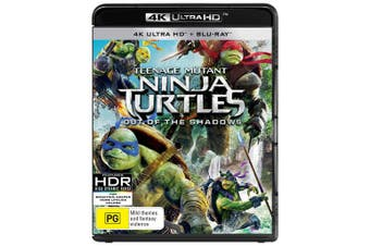 Teenage Mutant Ninja Turtles Out of the Shadows 4K Ultra HD Blu-ray Digital Download UHD