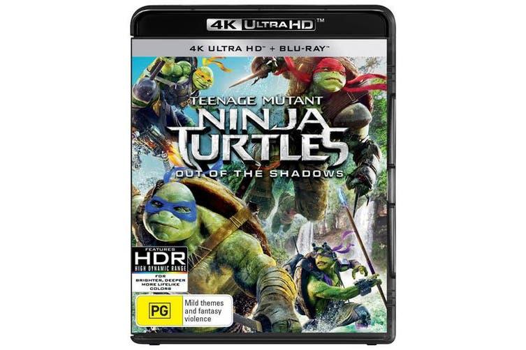 Teenage Mutant Ninja Turtles Out of the Shadows 4K Ultra HD Blu-ray Digital Download UHD