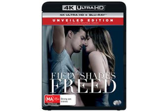 Fifty Shades Freed 4K Ultra HD Blu-ray UHD Region B