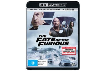Fast & Furious 8 4K Ultra HD Blu-ray Digital Download UHD Region B
