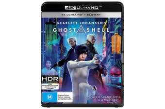 Ghost in the Shell 4K Ultra HD Blu-ray UHD Region B