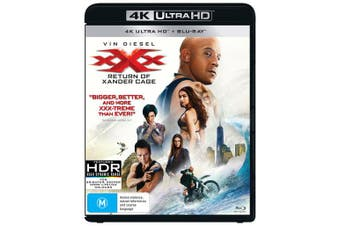 xXx The Return of Xander Cage 4K Ultra HD Blu-ray UHD Region B