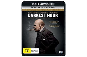 Darkest Hour 4K Ultra HD Blu-ray UHD Region B