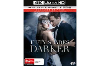 Fifty Shades Darker 4K Ultra HD Blu-ray Digital UV Copy Blu-ray Region B