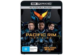 Pacific Rim Uprising 4K Ultra HD Blu-ray UHD Region B