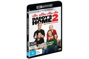Daddys Home 2 4K Ultra HD Blu-ray UHD Region B