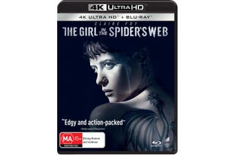 The Girl in the Spiders Web 4K Ultra HD Blu-ray UHD Region B