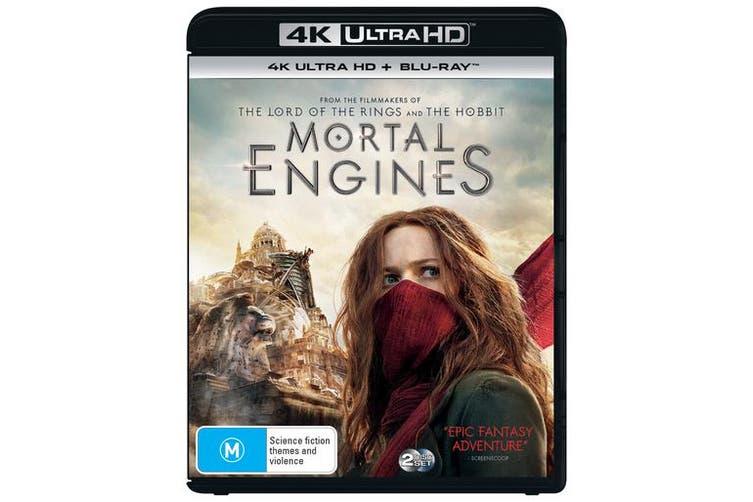 Mortal Engines 4K Ultra HD Blu-ray UHD Region B