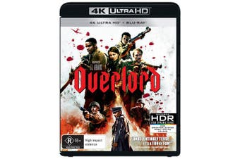 Overlord 4K Ultra HD Blu-ray UHD Region B