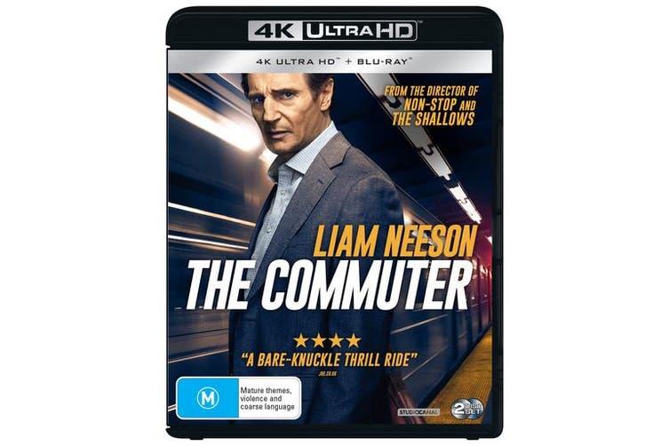 The Commuter 4K Ultra HD Blu-ray UHD Region B