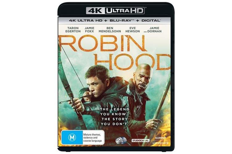 Robin Hood 4K Ultra HD Blu-ray Digital HD UHD Region B