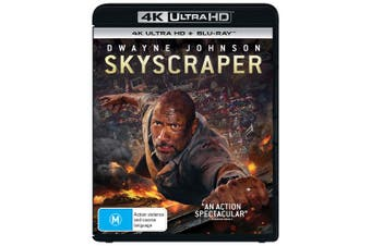 Skyscraper 4K Ultra HD Blu-ray UHD Region B
