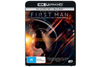 First Man 4K Ultra HD Blu-ray UHD Region B