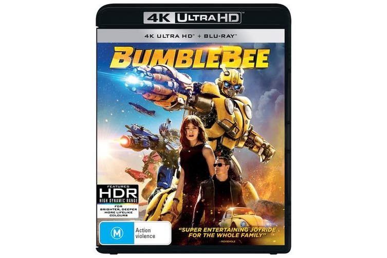 Bumblebee 4K Ultra HD Blu-ray UHD Region B