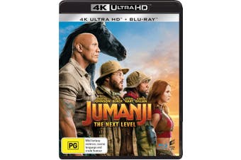 Jumanji The Next Level 4K Ultra HD Blu-ray UHD Region B