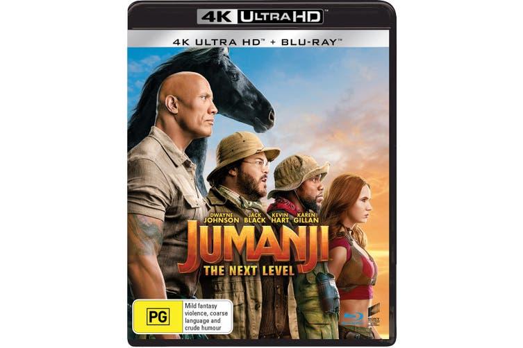 Jumanji The Next Level 4K Ultra HD Blu-ray UHD Region B
