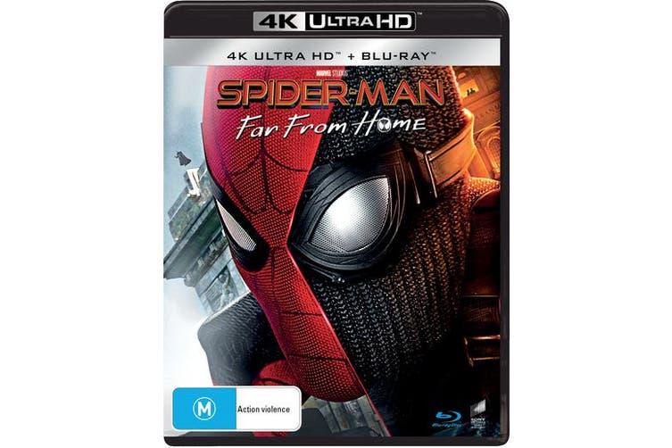 Spider Man Far from Home 4K Ultra HD Blu-ray UHD Region B