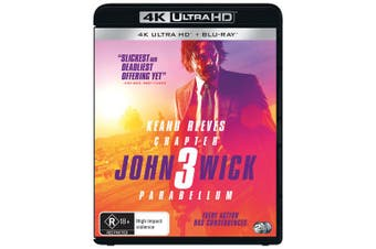 John Wick Chapter 3 Parabellum 4K Ultra HD Blu-ray UHD Region B