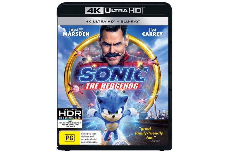 Sonic the Hedgehog 4K Ultra HD Blu-ray UHD Region B