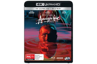 Apocalypse Now Final Cut 4K Ultra HD Blu-ray Boxset Blu-ray Region B