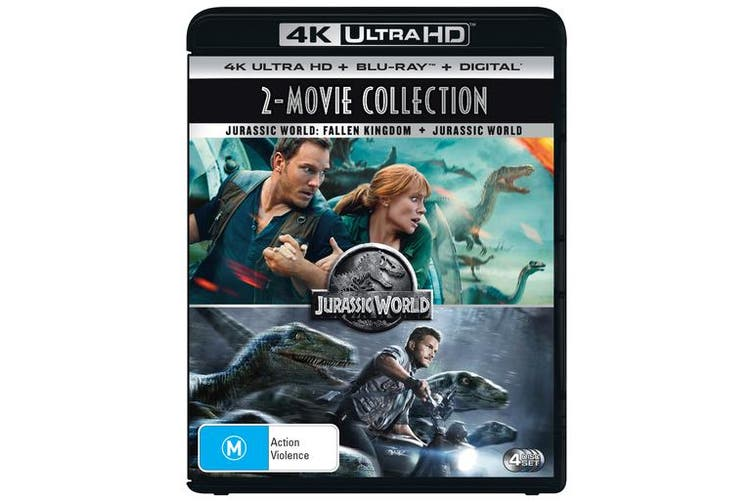 Dick Smith Jurassic World Jurassic World Fallen Kingdom 4k Ultra Hd Blu Ray Digital Hd Uhd 4k Ultra Hd Adventure