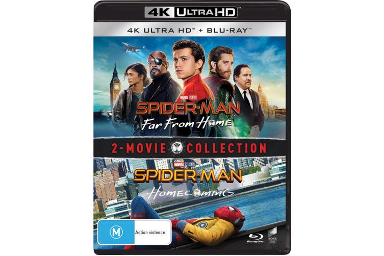 Spider Man Homecoming / Far from Home 4K Ultra HD Blu-ray UHD Region B