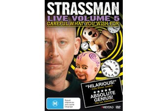David Strassman Careful What You Wish For DVD Region 4