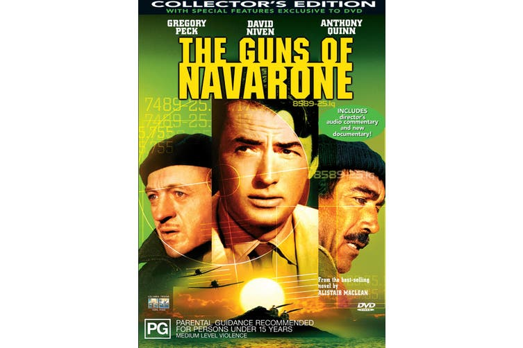 The Guns of Navarone DVD Region 4
