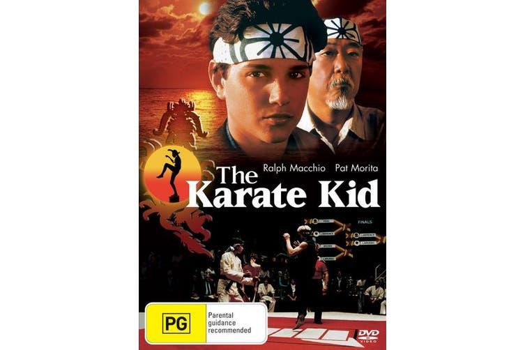 The Karate Kid DVD Region 4
