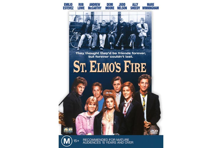 St Elmos Fire DVD Region 4