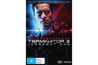 Terminator 2 Judgment Day DVD Region 4