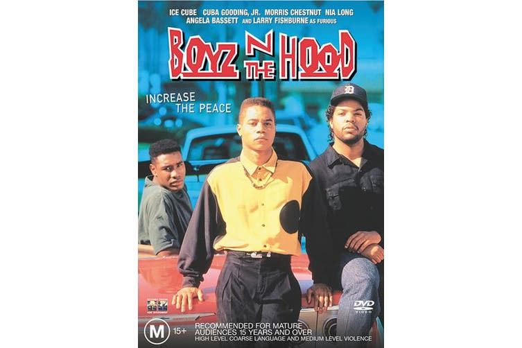 Boyz N the Hood DVD Region 4