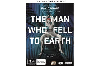 The Man Who Fell to Earth DVD Region 4