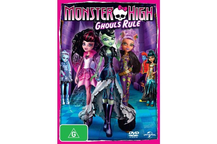Monster High Ghouls Rule DVD Region 4