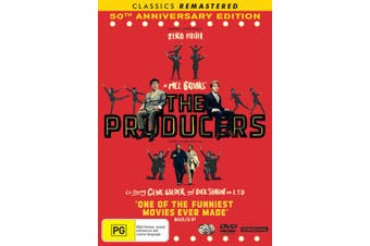 The Producers 50th Anniversary Edition DVD Region 4