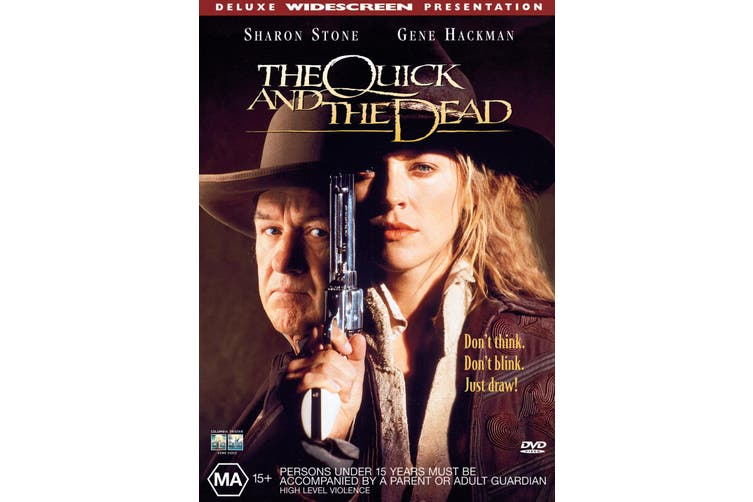 The Quick and the Dead DVD Region 4