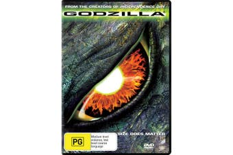 Godzilla DVD Region 4
