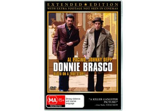 Donnie Brasco DVD Region 4