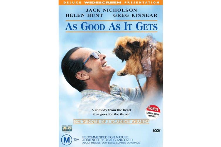 As Good As It Gets DVD Region 4