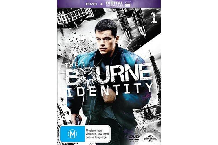 The Bourne Identity DVD Region 4