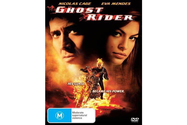 Ghost Rider DVD Region 4