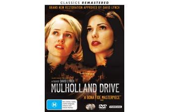 Mulholland Drive DVD Region 4